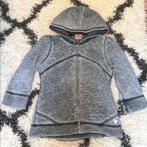 Juicy Couture Vintage • 3/4 sleeve • Zip up hoodie